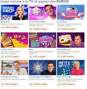 Jouer sur TF1.fr