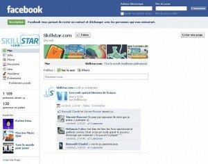 Skillstar sur Facebook